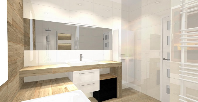 Projekt łazienki Od Sklepu Plytki Lazienkipl